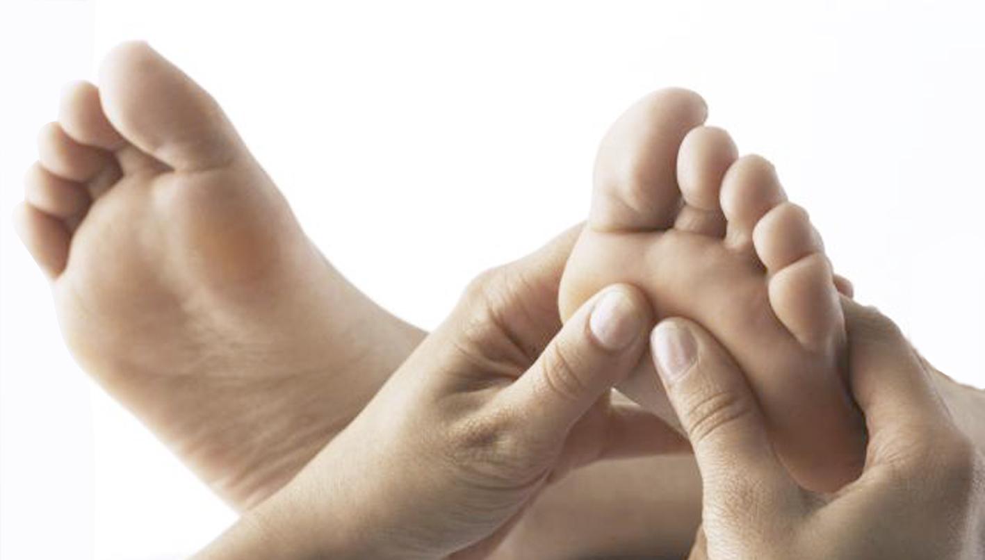 Alle dele af kroppen har tilhørende zoner under fødderne